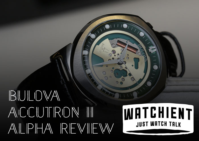 d02dcc051 Bulova Accutron II Spaceview Alpha Review