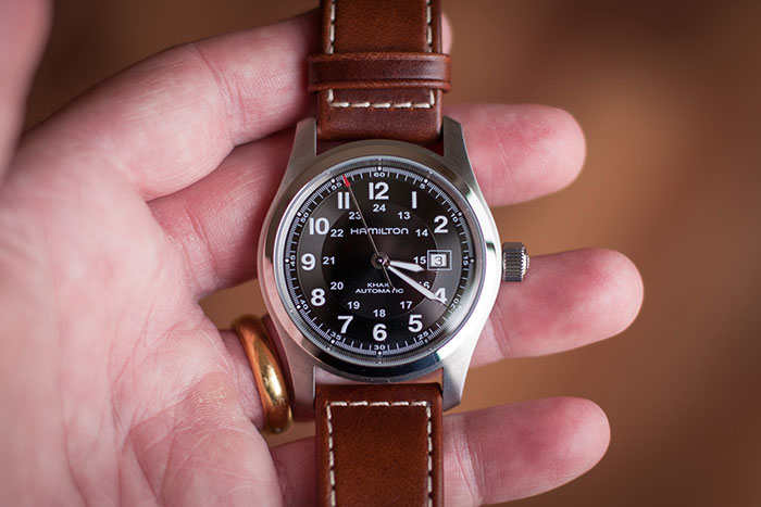 Field Automatic Khaki Hamilton Review QrCWxeodB