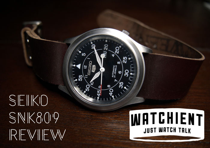 4fafee8f40f Seiko 5 Automatic SNK809  An In-Depth Review